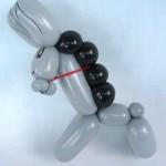 Luftballonfigur Esel