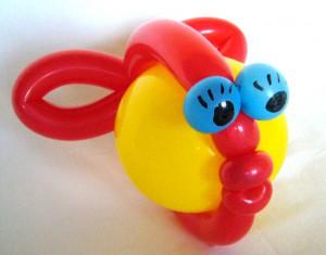 Luftballonfigur Kugelfisch