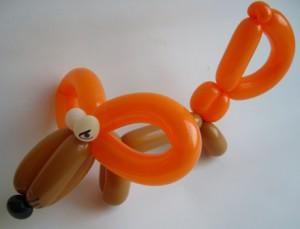 Luftballonfigur Fuchs