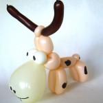 Luftballontier Kuh