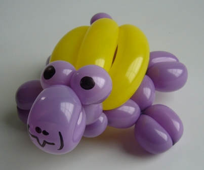 Ballonfigur kleine Schildkroete