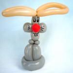 Ballontier Kaninchen