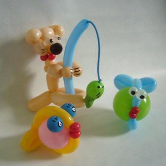 Ballonfiguren Gruppe 1b