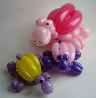 Luftballontiere Schildkroeten
