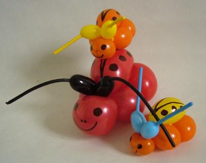 Ballontiere drei Kaefer