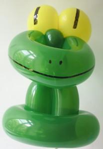 Luftballontier Frosch