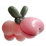 Luftballontier Nilpferd