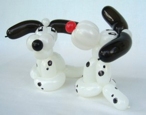 Ballonfiguren Dalmatiner