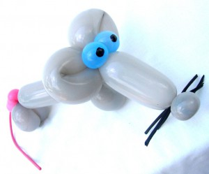 Luftballonkünstler für Geschäftseröffnung mit tollen Ballonfiguren!