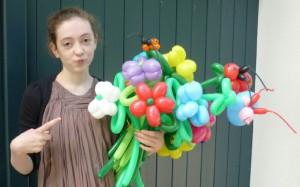 Luftballonfiguren Diepholz mit Cordula und Rüdiger Paulsen