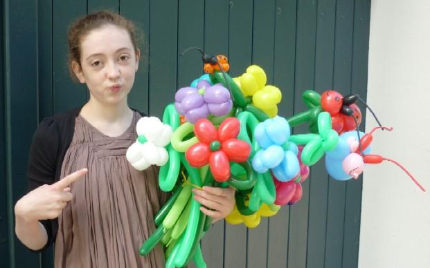 Ballontiere Delbrück mit den tollen Luftballonkünstlern Cordula und Rüdiger Paulsen.