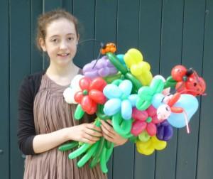 Luftballonfiguren Bünde mit Cordula und Rüdiger Paulsen