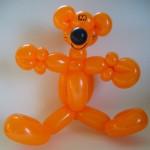 Luftballonfigur Knuddelbaer