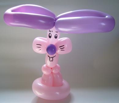 Luftballonfigur Hase