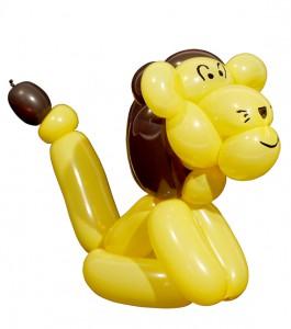 Ballonfiguren Möbelhaus mit tollen Luftballonkünstlern - Luftballonfigur Loewe