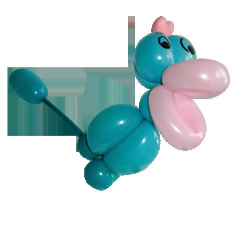 Luftballonfigur Vogel