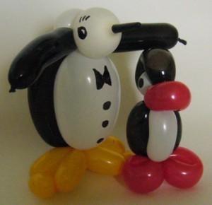 Luftballonfiguren Werl mit Cordula und Rüdiger Paulsen