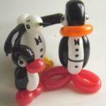 Luftballonfiguren Pinguine