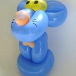 Ballonfigur Freche Maus