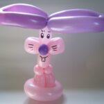 Luftballontier Hase
