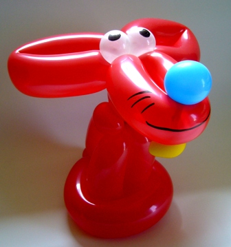Ballonfigur Maus von Rüdiger Paulsen