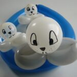 Ballonfiguren Seehundbabys