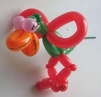 Ballonfigur Drache