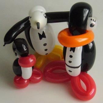 Luftballontiere Pinguine