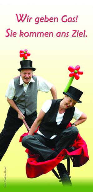 Luftballonkünstler Cordula und Rüdiger Paulsen